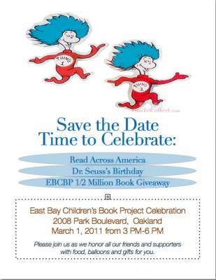 Please join us in celebrating dr seuss birthday
